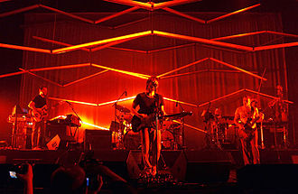 Atoms for Peace (band) - Atoms for Peace performing in 2010