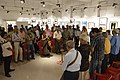 Attendees in Mourning for Mahasweta Devi - Group Exhibition - PAD - Kolkata 2016-07-29 5241.JPG