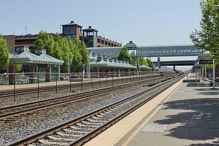 Auburn station (Sound Transit) Commuter train station in Auburn, Washington