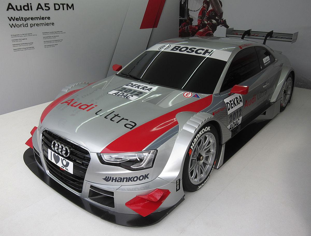 Audi 5 Serie DTM – Wikipedia