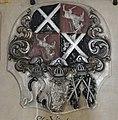 Augsburg Dom Epitaph Trauner 02 gestürztes Wappen Trauner.jpg
