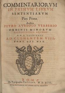 Petrus Aureolus French philosopher