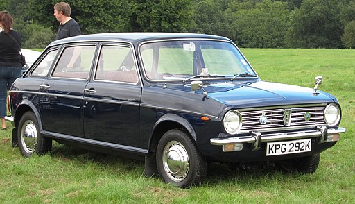 Austin Maxi 1485cc first registered April 1972 photographed at Knebworth
