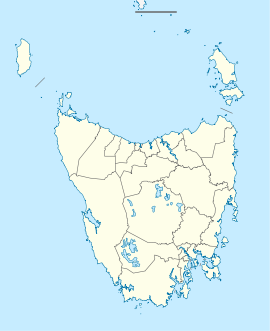 Penguin is located in Tasmania