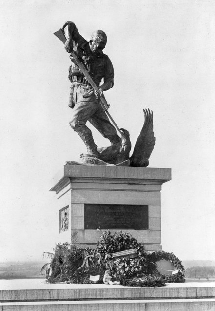 Australian 2nd Division Memorial at Mont St Quentin, France in August 1925