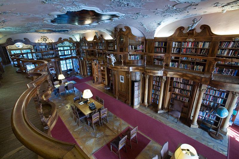File:Austria - Schloss Leopoldskron Library - 2846.jpg