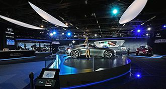 Automotive industry in India - Auto Expo 2014, Noida