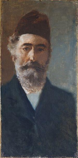 Martín Rico - Self-portrait (1908)