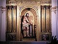 Avila Convento de Sta Theresa Christ statue.jpg