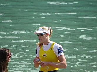 Kim Brennan - Image: Aviron 2015 World Championships 34
