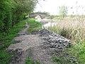 Aylesbury Arm, The Water must have overflowed here - geograph.org.uk - 1283082.jpg