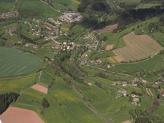 Bělá (Semily District) - Aerial view