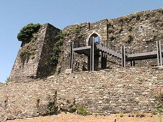 Pier Maria II de' Rossi - Remains of the Castle of Berceto.
