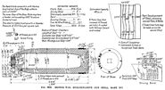 BL 6 inch HE Gun Shell Mk XVI Diagram