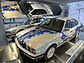 BMW 535i Art Car by Matazo Kayama at the BMW Museum - front view.jpg