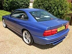 BMW E31 Rear Styling