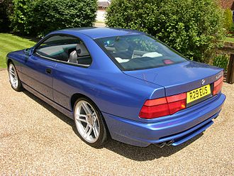 BMW 8 Series (E31) - BMW 840Ci (M62 engined) - rear