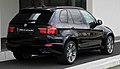 BMW X5 xDrive40d M-Sportpaket (E70, Facelift) – Heckansicht, 2. Juli 2011, Düsseldorf.jpg