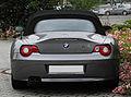 BMW Z4 2.2i (E85) – Heckansicht (2), 26. Juni 2011, Mettmann.jpg