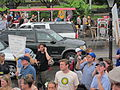 BP Oil Flood Protest NOLA Carriages Dead Execs Walking.JPG
