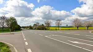 Bundesstraße 245 - Image: B 245 + L 104 nr Barneberg, 2016 (01)