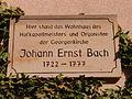 Bach Johann Ernst Eisenach Lutherplatz.JPG