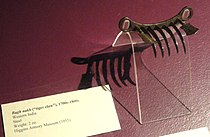 Bagh nakh (tiger claw), western India, 1700s-1800s - Higgins Armory Museum - DSC05600.JPG