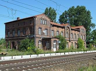 Großbeeren station - Heritage-listed station building