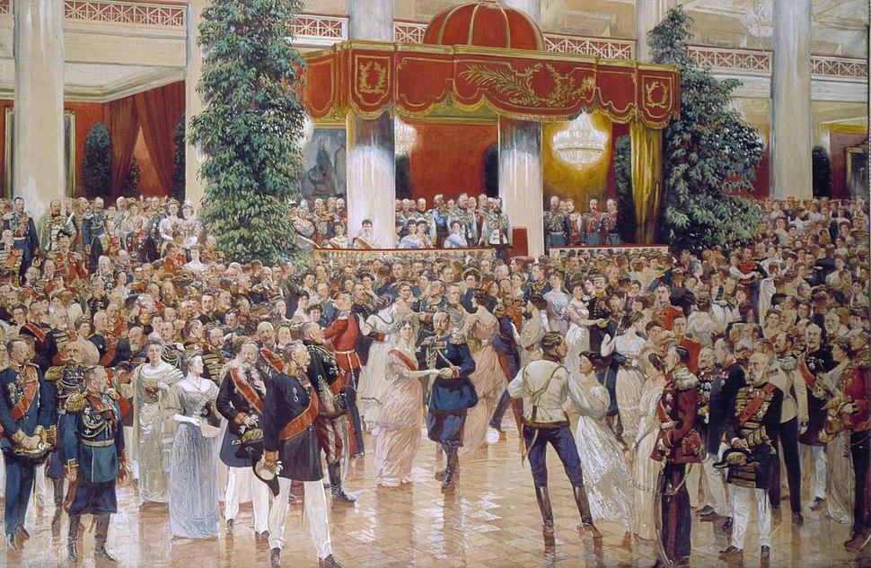 Ball at 20s by Kardovsky