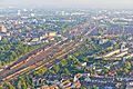 Ballonfahrt über Köln - Blick Richtung Vingst und Höhenberg, Rangierbahnhof Köln-Kalk Nord- RS-4171.jpg