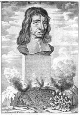 Balthasar Bekker getekend door Johannes Hilarides in 1691
