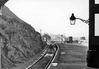 Banff, Aberdeenshire - Banff railway station (the GNoS line) in 1961