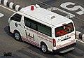 Bangladesh Fire Service and Civil Defence (FSCD) Toyota Hiace H200 ambulance (24326623322).jpg