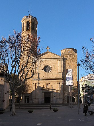 Major de Sarrià - Eglésia de Sant Vincenç de Sarrià in Plaça Sarrià