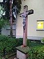 Barockes Steinkruzifix des 18. Jh. in Frankfurt-Sossenheim Okt. 2019 002.jpg