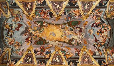 Baroque ceiling frescoes (Ljubljana Cathedral).jpg