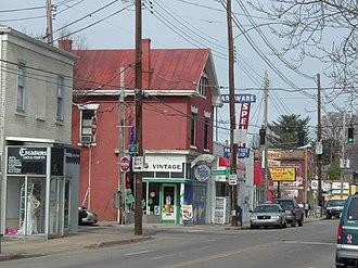 Germantown, Louisville - Image: Barrett Ave Gtwn