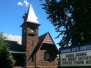 National Register of Historic Places listings in Middlesex County, New Jersey - Image: Barron Arts Center Barron Library