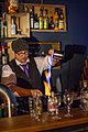 Bartender preparing a blue blazer cocktail01.jpg
