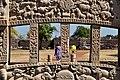 Bas-reliefs - Lower Blocks - West Face - East Gateway - Stupa 1 - Sanchi Hill 2013-02-21 4463.JPG