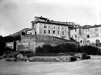 Colossus of Nero - Base of the Colossus of Nero, Coliseum, Rome,