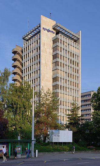 Syngenta - Syngenta headquarters in Basel