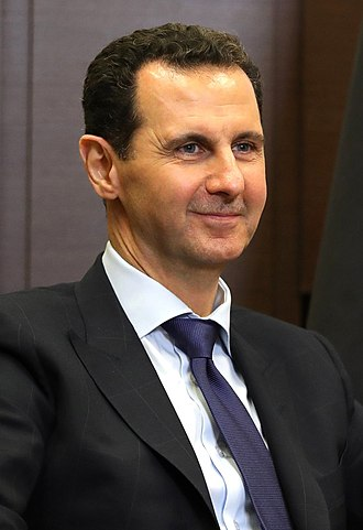 Bashar al-Assad - Assad in 2018