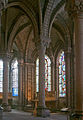 Basilica Saint Denis ambulatory.JPG