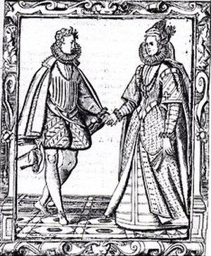 Basse danse -  A 16th-century basse danse