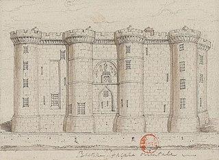 Bastille Former Parisian fortress