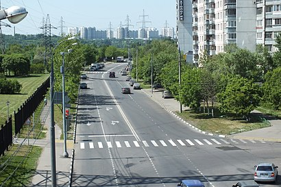 How to get to Батайский Проезд with public transit - About the place
