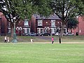 Bathley Street, boys and girl playing cricket - geograph.org.uk - 1410538.jpg