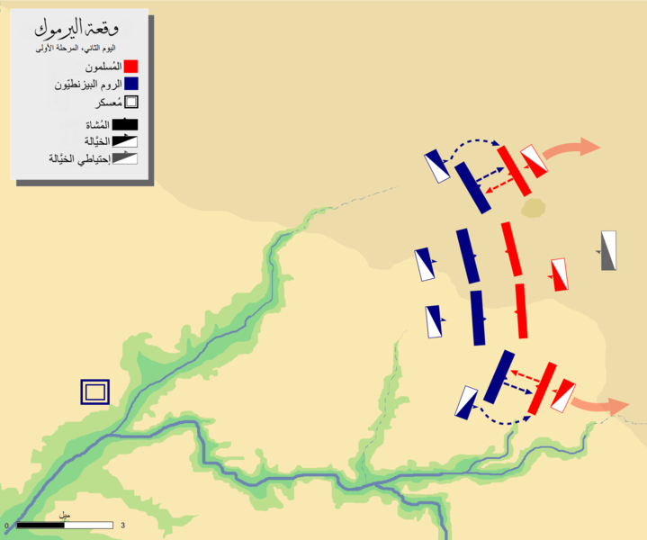 ملف:Battle of Yarmouk-day-2 phase-1-ar.PNG