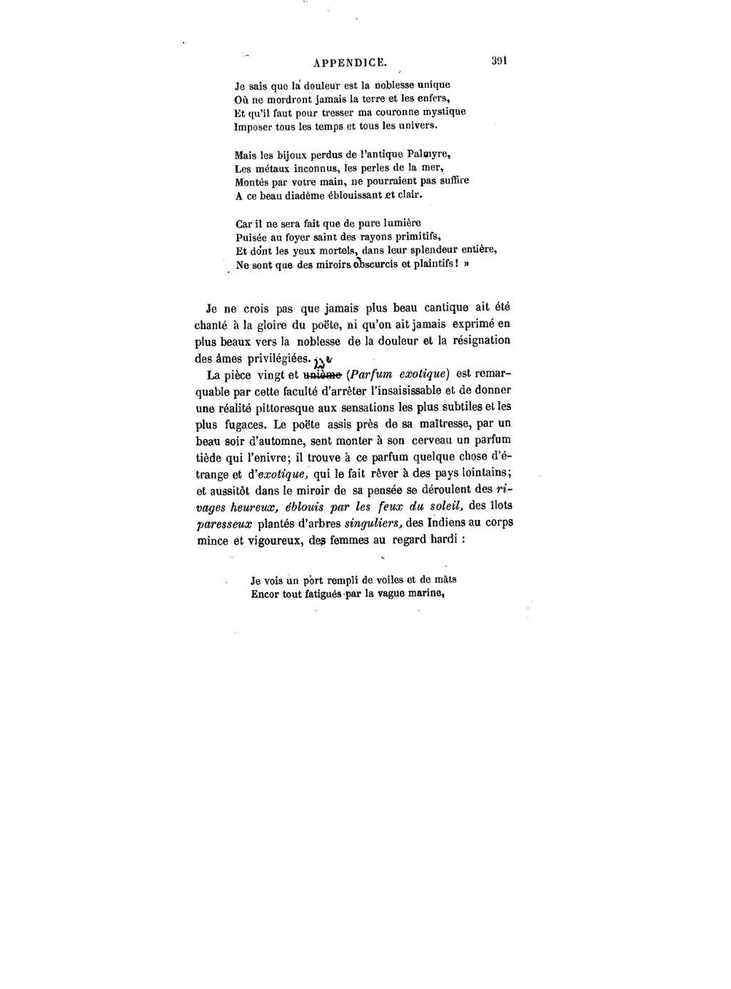 Du baudelaire Les djvu395 Fleurs Mal Page Wikisource DHIWe29EY